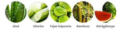 Holika Holika Aloe 99% Soothing Gel fő összetevők