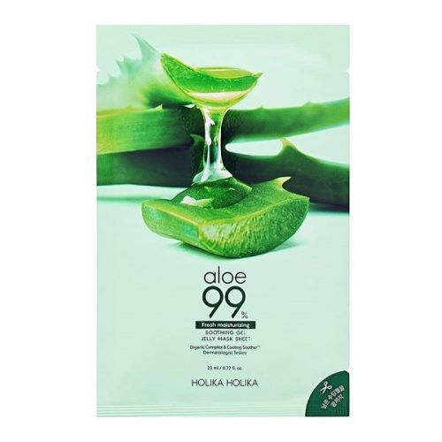 Aloe 99% Soothing Gel Jelly Mask Sheet termek kep
