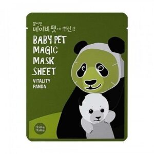Holika Holika Baby Pet Magic Szövetmaszk – Panda 22ml
