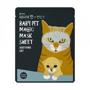 Holika Holika Baby Pet Magic Szövetmaszk – Cica 22ml