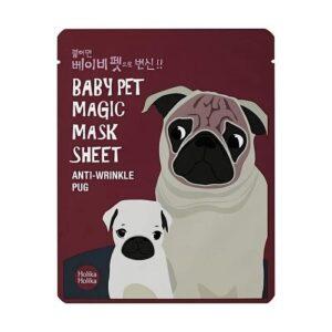Holika Holika Baby Pet Magic Szövetmaszk – Mopsz 22ml
