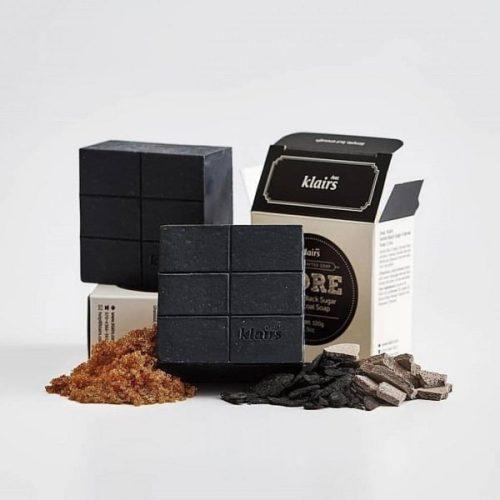 Klairs Gentle Black Sugar Charcoal Soap termék kép