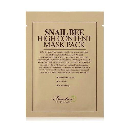 BENTON Snail Bee High Content Mask termék kép