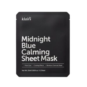 Klairs Midnight Blue Calming Fátyolmaszk 25ml