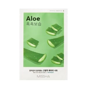 Missha Airy Fit Sheet Maszk – Aloe 19g