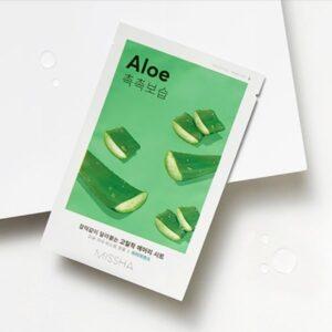 Missha Airy Fit Sheet Maszk – Aloe 19g