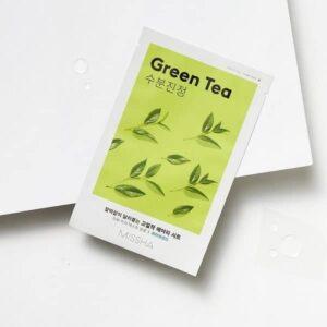 Missha Airy Fit Sheet Maszk – Zöld Tea 19g