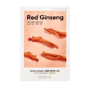 Missha Airy Fit Sheet Maszk – Vörös Ginzeng 19g