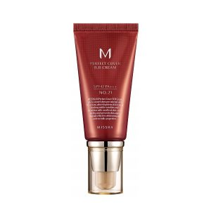 Missha M Perfect Cover BB Krém – No. 21/Világos Bézs 20ml