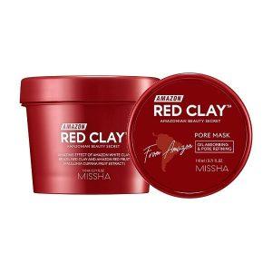 Missha Amazon Red Clay Pore Mask termék kép