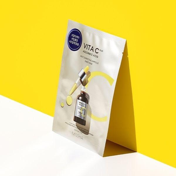 Missha Vita C Plus Spot Correcting Ampoule Sheet Mask termék kép