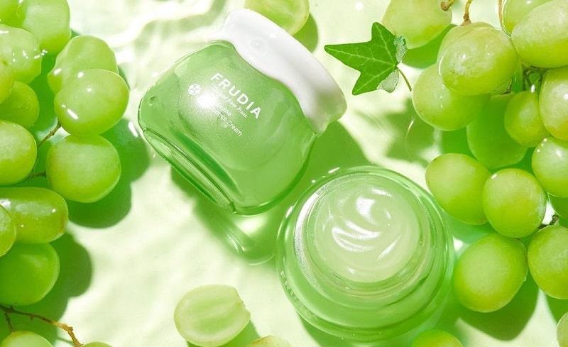 Gyümölcsös koreai kozmetikumok